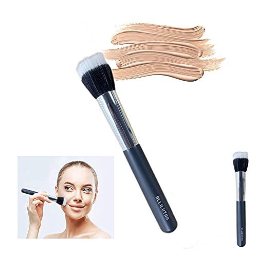 Brocha para Polvos,Brocha de Maquillaje Sintética Profesional,Colorete,Iluminador,Contorno,Brocha de Maquillaje(1 unidad)