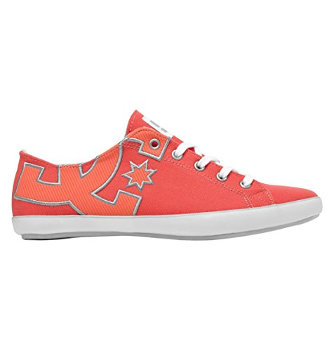 DC Shoes Women's Cleo Sneaker,Hot Coral,10 US/10 M US