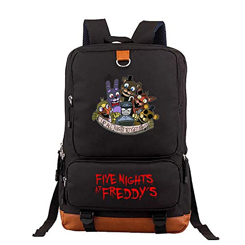 Levuyou Kid's Five Nights at Freddy's Backpack for Travel Outdoor, Durable Multi-Function School Bag Bookbag