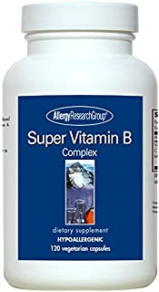 Allergy Research Group Super B Complex 120 caps (Pack of 2)