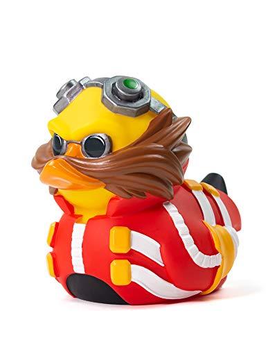 TUBBZ Sonic The Hedgehog Dr. Eggman Figurilla de Pato de Goma Coleccionable - Mercancía Oficial de Sonic - Edición Limitada Única