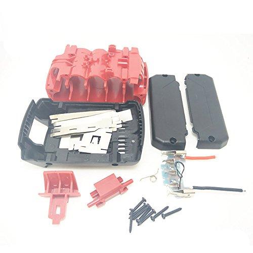 BAT618 Für Bosch BAT609G 18 V BAT609G BAT618 BAT618G Lithium-Ionen-Batterie Kunststoff-Batterie-Gehäuse (keine Batterie) PCB-Platine