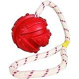 Trixie 33482 Ball am Seil, Naturgummi - 3