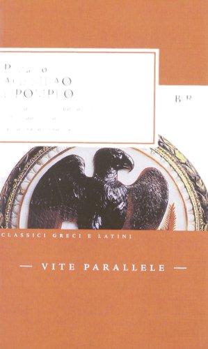 Vite parallele. Agesilao e Pompeo. Testo greco a fronte