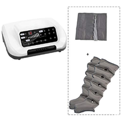 DYXT Masajeador de piernas con compresión de Aire, para Masaje de circulación de pies y pantorrillas, Dispositivo de Alivio del Dolor Muscular, relajación de la circulación sanguínea