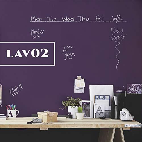 Pittura Lavagna Magnetica litri 0,750 Colorificio Mazza Nero lvm01,Viola lvm02,Grigio lvm03,Verde lvm 04,Arancione lvm05, Turchese lvm06 (VIOLA LVM02)