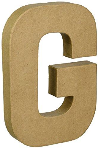 Darice PaperMache Letter 8quotX55quot G