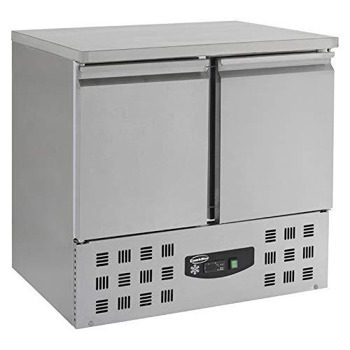 Table Réfrigérée Négative Compacte - 2 portes - Combisteel - R290Rvs Aisi 2012 PortesPleine