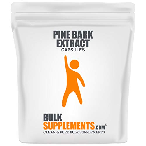 BulkSupplements Pine Bark Extract (300 Gelatin Capsules)