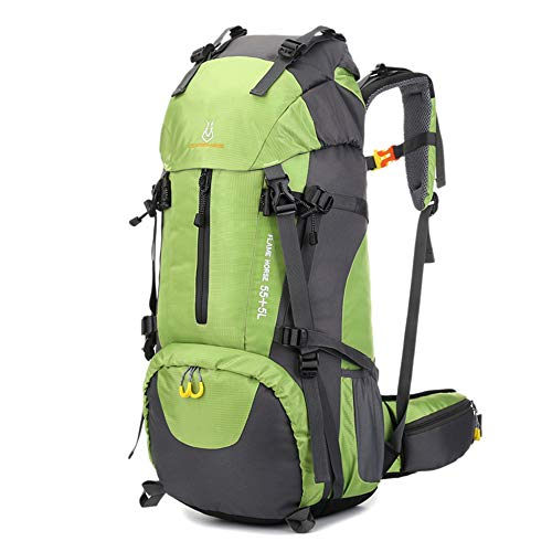 Lixada 60L Sac à Dos de randonnée résistant à l'eau Sport de Plein air Trekking Alpinisme Voyage Sac à Dos avec Compartiment à Chaussures pour Hommes et Femmes