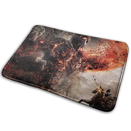 xinping Wrath Titans Teppich Bodenmatte Teppich rutschfestes Badezimmer Antirutsch-Pad Bad Washabl
