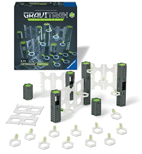 Ravensburger GraviTrax PRO Vertical Expansion Set - Marble Run and STEM Toy for Boys and Girls Age 8 and Up - Expansion for 2019 Toy of The Year Finalist GraviTrax