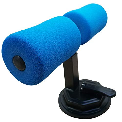Dobo - Herramienta para abdominales con ventosa para fijación en el suelo con acolchado de goma expandida, tobillos, ejercicio, salud, deporte, fitness - Color enviado según disponibilidad