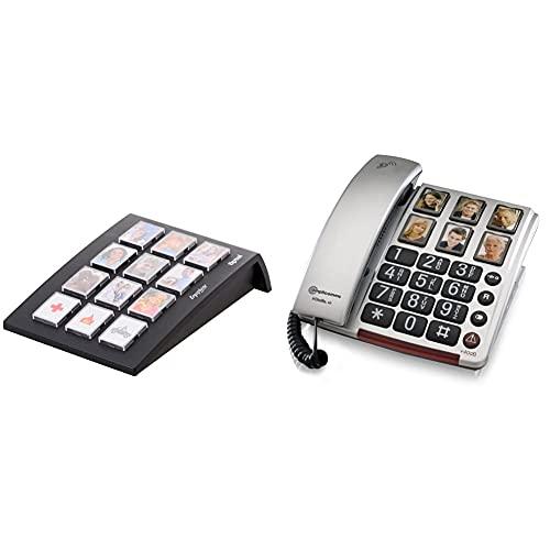 Tiptel Ergophone 12 Wählgerät mit 12...