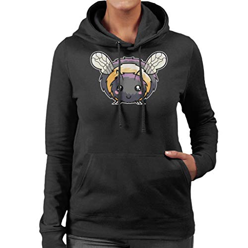 Cartoon Bumble Bee Sweatshirt met capuchon voor dames