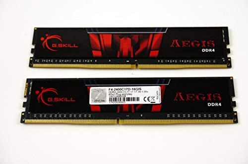 G.Skill Aegis 16GB 2 x 8GB 288-Pin SDRAM DDR4 2400