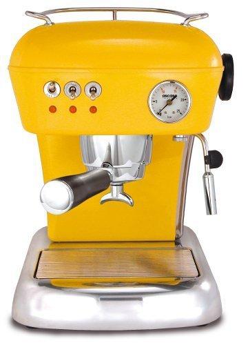 Ascaso DR.112 Dream 16-Bar-Pump Espresso Machine, Sun Yellow by Ascaso