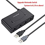 Switch Gamecube Controller Adapter, Nintendo Switch Gamecube Adapter with Turbo and Home Buttons, Gamecube Switch Adapter for Switch, Gamecube Adapter for Switch, Gamecube Controller Adapter Switch