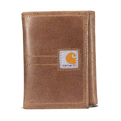 Carhartt Herren Geldbörse Legacy Trifold, Herren, Tasche, Legacy Trifold Wallet, braun, Einheitsgröße