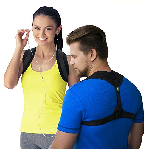 Posture Corrector for Women Men - Posture Corrector Comfort - Back Posture Brace - Adjustable Clavicle Brace - Sports Posture Support - Upper Back Brace - Shoulder Support
