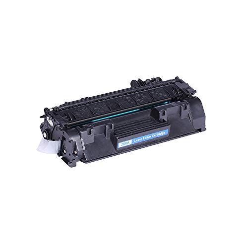 WSCA Reemplazo de Cartucho de tóner Compatible para HP CF280A 80A Negro para impresoras HP Laserjet Pro 400 M401 / M401d / M401dn / M425 / M425dn / M425dw