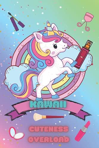 Kawaii makeup journal: kawaii cute unicorn makeup notebook. Great gift for girls
