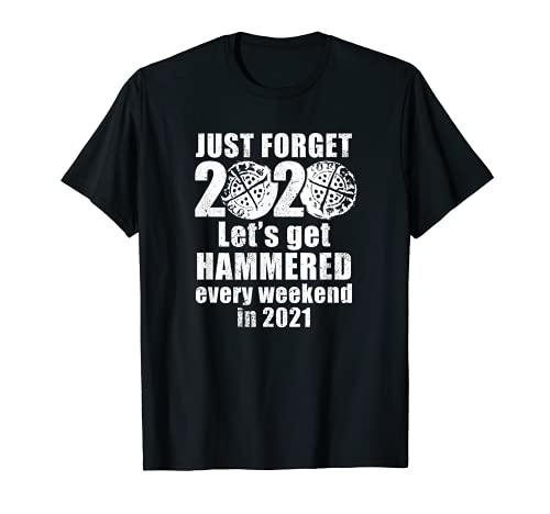 Divertida moneda martillada 2020 detector de metales Camiseta