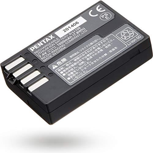 PENTAX D-LI109 充電式リチウムイオンバッテリー リチャージャブルバッテリー リコー メーカー純正品 対応機種KP、K-70、K-S2、K-S1、K-50、K-30、K-r用 39096
