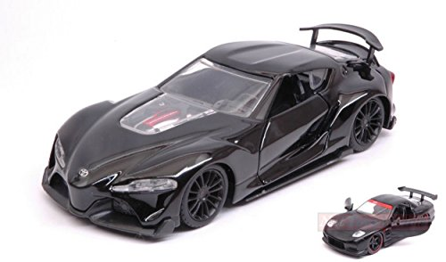 Jada Toys JADA98415 Toyota FT-1 Concept Black JDM Tuners 1:32 DIE CAST Model kompatibel mit