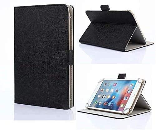 Unversale Hülle 7-8 Zoll, TASVICOO Unversale Tablet Schutzhülle Buchstyle Cover Standfunktion für alle 7/7,85/7,9/8 Zoll Tablet(Schwarz)