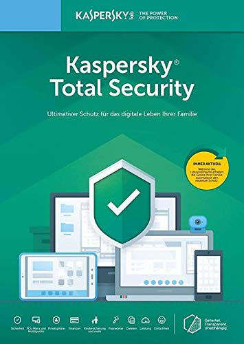 Kaspersky Total Security 2019 | 1 Gerät | 1 Jahr | Télécharger I E-Mail