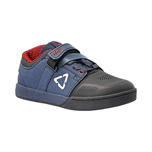 Leatt Unisex_Adult Chaussures 4.0 Clip Mountain Biking Shoe, Onyx, 12.5 UK