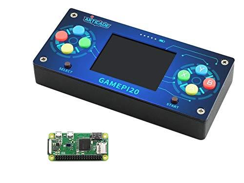 GamePi20 ポータブルレトロビデオゲームコンソール 内側アドオン Raspberry Pi Zero WH Raspberry Pi Zero/Zero W/Zero WH用 GamePi20 2インチIPSディスプレイ