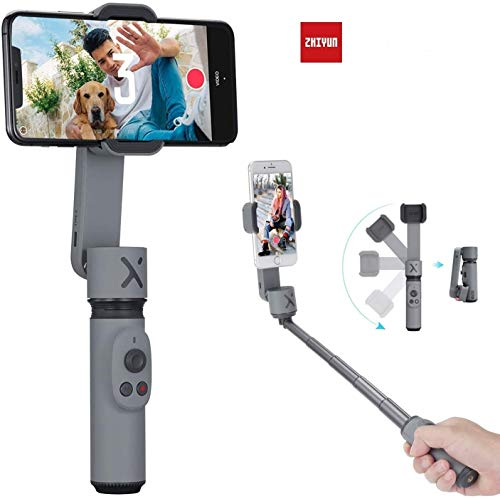 Zhiyun Smooth X 2-Axis Gimbal Stabilizer for iPhone 12 Pro Xs Max Xr X 8 Plus 7 6 SE