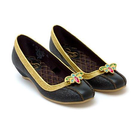Disney Chaussures Anna de La Reine des Neiges Pantoufle Taille UK 9 - 10 , EU 27 - 28 , USA 11 - 12