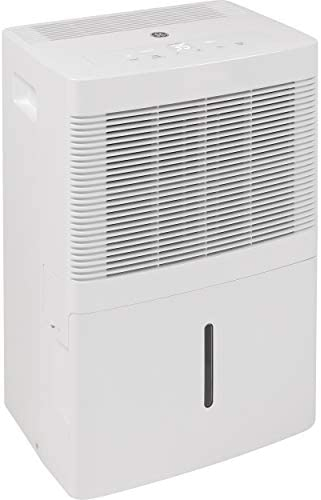 GE 20 Pint Dehumidifier for Damp Rooms Bedroom and Closet White product image