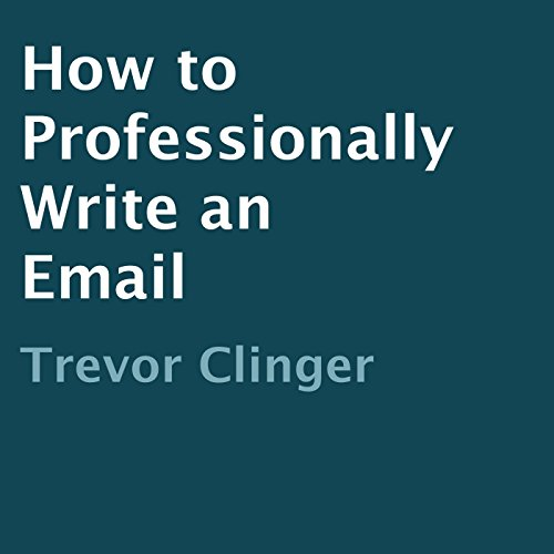 How to Professionally Write an Email cover art