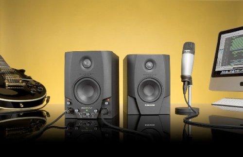 Samson Studio GT Pro Active Studio Monitors with USB Audio Interface and C01 Studio Condenser Microphone
