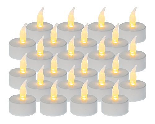 Idena 408754 chauffe-plat à LED Piles incluses (Lot de 24)