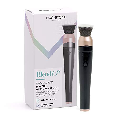 Magnitone Londres blendup cepillo pincel Estompeur de maquillaje vibra-sonic inalámbrico recargable negro/rosa dorado