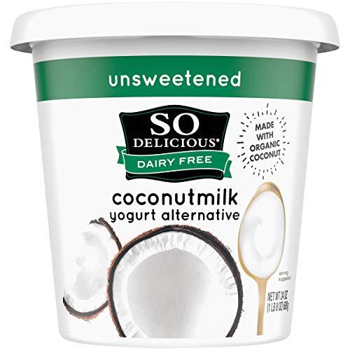 So Delicious Dairy Free Coconutmilk Yogurt Alternative, Unsweetened,...