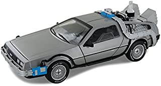 Hot Wheels Collector Back to the Future Time Machine with Mr. Fusion Die-cast Vehicle (1:18 Scale)