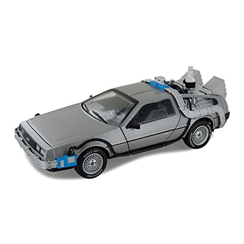Hot Wheels Delorean-Zeitmaschine mit Mr Fusion, Maßstab 1:18, Spritzgußmodell, cmc98