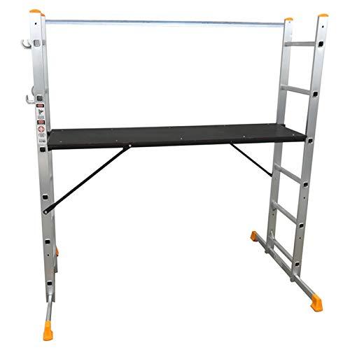 Abbey 5 Way Multi-Purpose Platform and Scaffold Combination Ladder