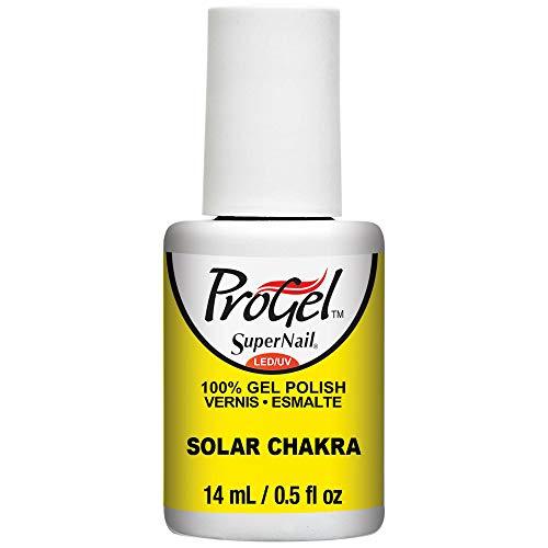 SuperNail ProGel LED/UV Vernis à Ongles - Festival Of Colours Collection 2016 - Solar Chakra - 14ml