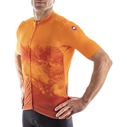 CASTELLI 4521009-036 Polvere Jersey Uomo Orange XL