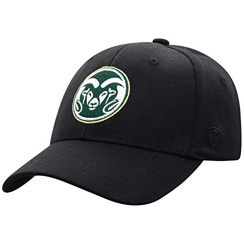 Top of the World Herren Mütze Colorado State Rams Icon, Schwarz, One Fit