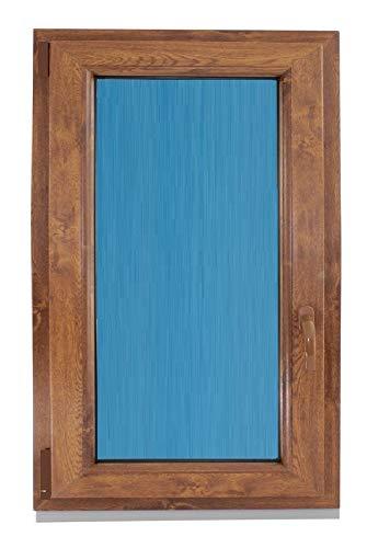 ECO-BLU (V20T) Ventana Pvc 800x1000 Oscilobatiente Izquierda color madera Roble dorado