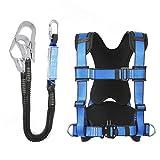 JIAWYJ XIAOJUAN Cablaggio di Sicurezza Regolabile della metà del Corpo per Il Fuoco dell Alpinismo Che Salva Il Salvataggio del rampicante rampicante