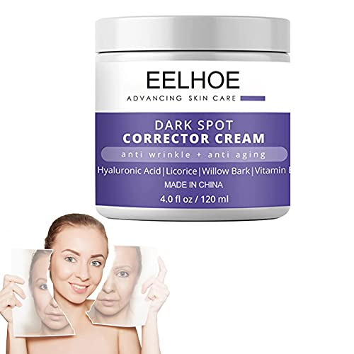 HZXY Dark Spot Corrector Cream for Face & Body, Anti Aging Face Moisturizer Skincare Cream, Dark Spot Corrector Cream for Face and Sensitive Skin (2Pcs)